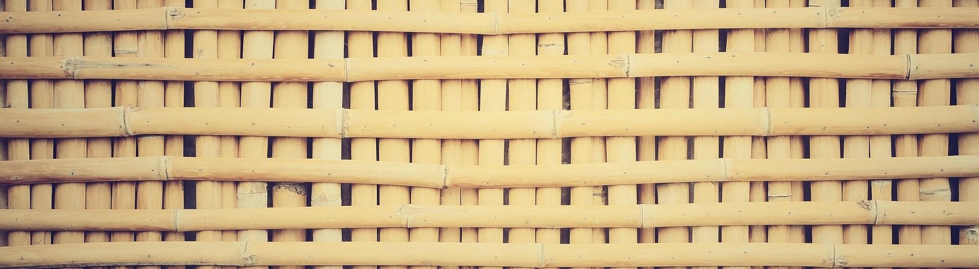 Bambus Stangen für Haus und Garten