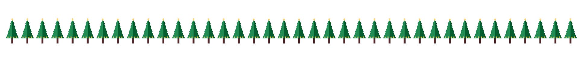 weihnachtsbäume-separator