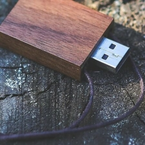 Bambus USB-Sticks