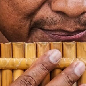Bambus Instrumente