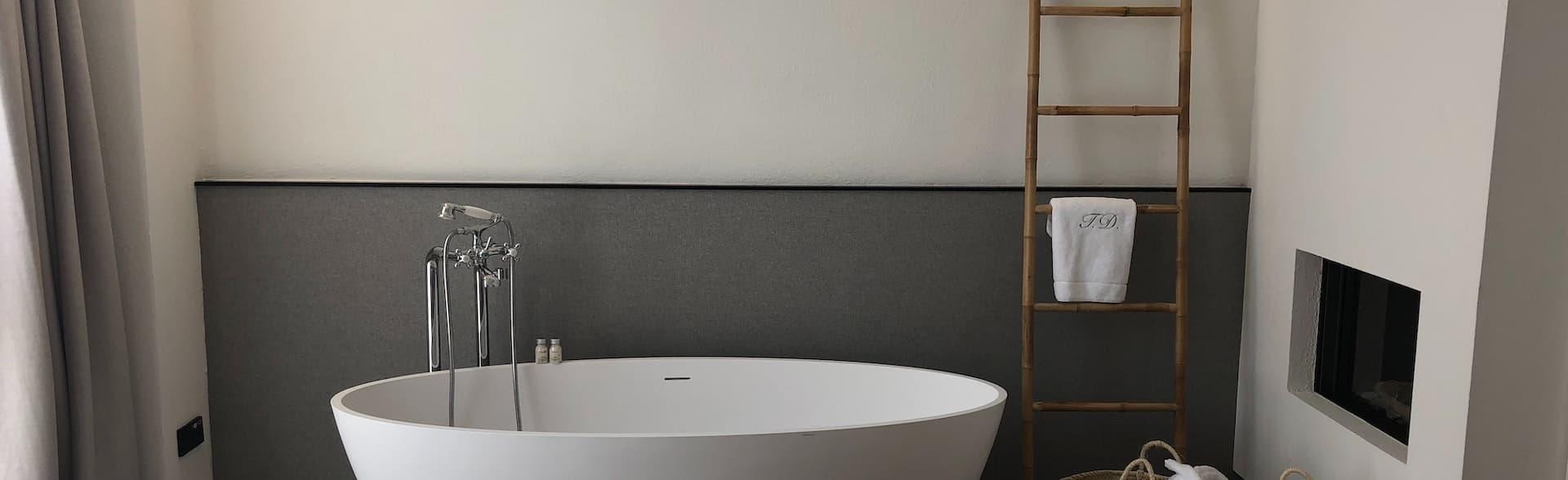 Handtuchhalter aus Bambus für das badezimmer