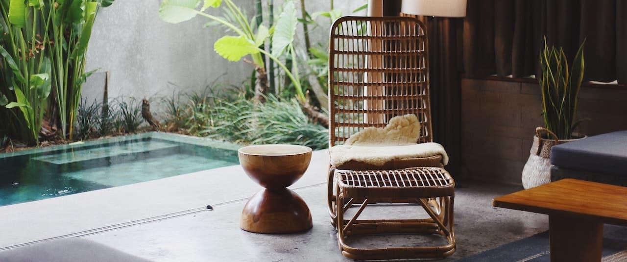 Bambus Gartenstuhl - Teaserbild Kategorieseite